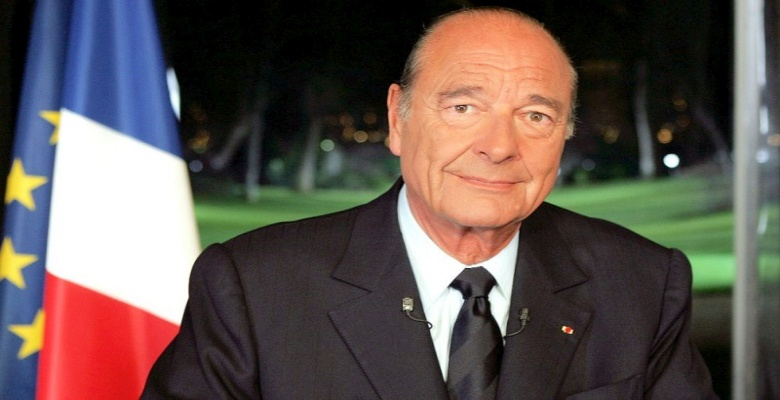 Archiv/Präsident Jacques Chirac
