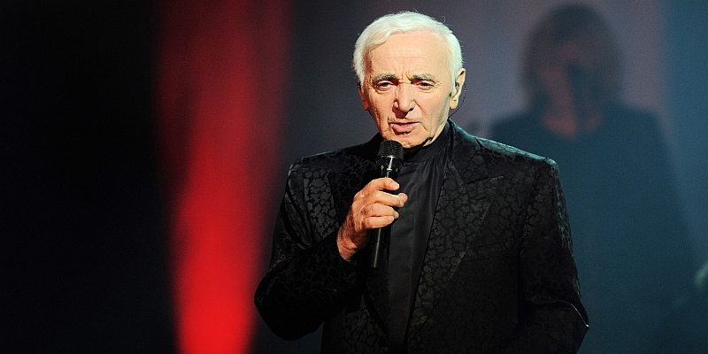 Charles Aznavour Olympia 2014
